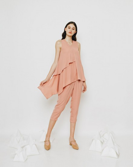 KIVA TOP DUSTY PINK
