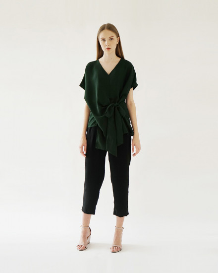 HARU TOP FOREST GREEN
