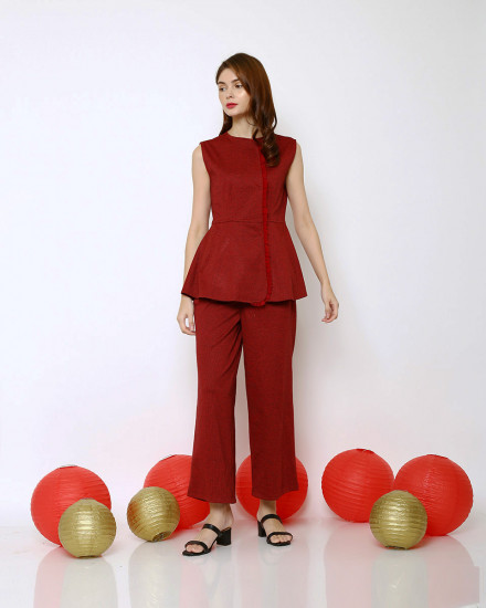 DYNASTY TOP RED