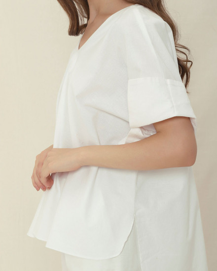 BYUL TOP WHITE